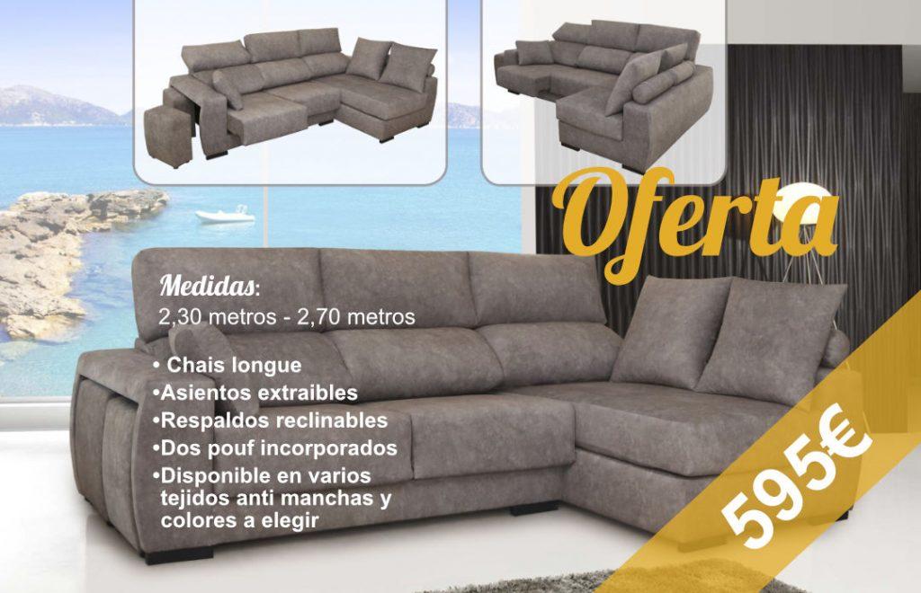 Oferta Sofá antimanchas Vélez málaga